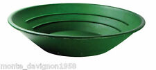 "10"" PANNING GOLD PAN - GREEN"