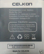 New Replacement Premium Quality Battery For CELKON Q44 Millennia Dazzle 1500mAh