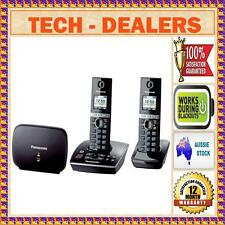 PANASONIC KX-TG8032 DIGITAL DECT CORDLESS WALL MOUNTABLE PHONE+WORKS IN BLACKOUT