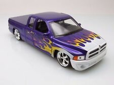 Dodge Ram Quad Cab 1500 Sport Lowrider Pickup, 2002 - Purple with Flames