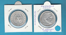 MONETA GERMANIA GERMANY DEUTSCHLAND 5 MARK 1936 A ARGENTO SILBER SILVER IN OBLO