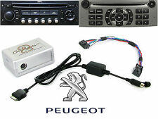 Connects2 CTAPGIPOD011 Peugeot 207 307 407 807 Ipod Iphone Interface Adaptor