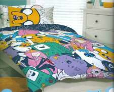 ADVENTURE TIME JAKE FINN QUEEN  bed QUILT DOONA DUVET COVER SET NEW