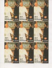POPE JOHN PAUL II PRINCESS DIANA REPUBLIQUE DU NIGER 1997 MNH STAMP SHEETLET