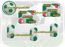 WORLD CUP SOCCER 94 -NEW DESIGN- Pinball  Target Cushioned Decal Set-