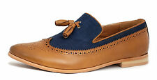 Mens Smart Casual Shoes Slip On Tassel Dress Office UK Size 6 7 8 9 10 11 JAS