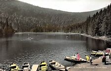 BG15555 grosser arbersee mit seewand bayer wald boat   germany CPSM 14x9cm