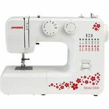 Janome 3300 Sewing Machine Ex Demo - 2 Year Warranty NEXT DAY DELIVERY