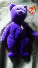 Ty Beanie Baby ~ PRINCESS (Diana) Bear ~ RARE INDONESIA PVC 1st EDITION!!!