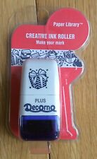 Plus Japan 1 x Deco Mini Roller Stamp - Parcels, Birthday, Presents, Gifts BNIP