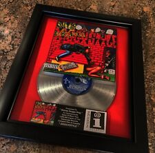 Snoop Doggy Dog Doggystyle Platinum Record Disc Album Music Award Grammy RIAA