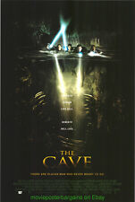THE CAVE MOVIE POSTER Original DS 27x40 Horror Film 2005