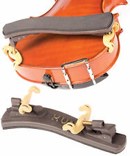 Kun Collapsible Brown 1/16-1/4 Violin Shoulder Rest