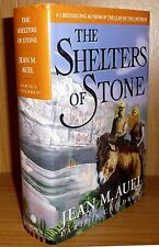 THE SHELTERS OF STONE by Jean M Auel TRUE HB 1st Printing! SIGNED!