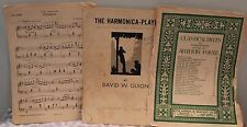 Vintage Sheet Music Collection Classical The Harmonica Player