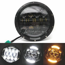 """7"""" MOTORCYCLE PROJECTOR DAYMAKER HID LED LIGHT BULB HEADLIGHT For Harley DOT"""