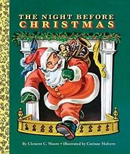 The Night Before Christmas (Big Golden Board Book) C Moore Collector Edition 1/5