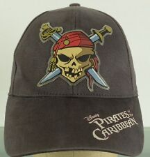 Pirates of the Caribbean Disney Land Dead Man's Chest adjustable baseball hat