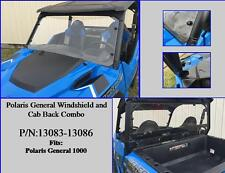 Polaris General Windshield & Cab Back Combo #13083-13086