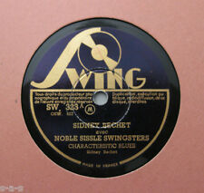 Sidney bechet & noble sissle swingsters-characteristic blues swing 323 (128)