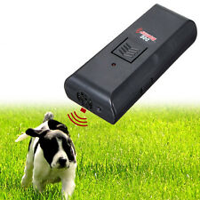 Digital Ultrasonic Pet Dog Repeller Train Stop Barking dog Repellent Trainer NEW