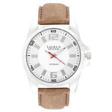 Laurels Gatsby 2 Analog White Dial Men's Watch - Lo-Gt-201 (MRP=995)
