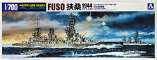 Aoshima Waterline 00977 IJN Japanese Battleship FUSO 1944 1/700 scale kit