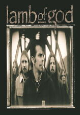 """LAMB OF GOD FLAGGE / FAHNE """"BANDPICTURE"""" POSTERFLAG"""
