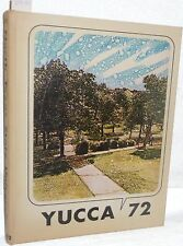 1972 University of North Texas State UNT Yucca College Yearbook Student Photos