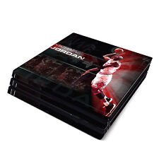 Skin Decal Cover Sticker for Sony PS4 Pro - Michael Jordan