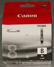 Cartouche d'encre originale CANON CLI-8 BK CLI8BK noire pour imprimante PIXMA