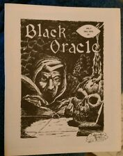 BLACK ORACLE 7 Fall 1973 Baltimore Horror famous Monsters Fanzine