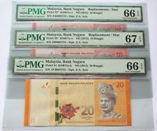(PL) NEW: RM 10 ZA ZB & RM 20 ZC 0002723 PMG 66-67 EPQ LOW SAME REPLACEMENT UNC