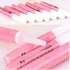 2 x Mini Professional Beauty Nail False Art Decorate Tips Acrylic Glue Natural H
