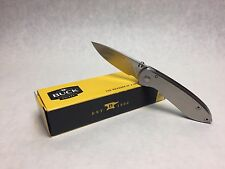 Buck Knives 325 Colleague EDC Stainless Steel Folding Pocket Knife 0325SSS New