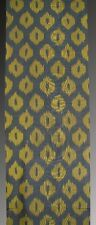 HAND MADE UZBEK Natural SILK IKAT ADRAS FABRIC # 7406