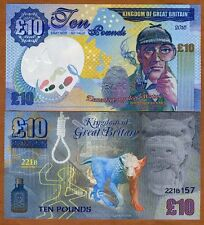 Great Britain, 10 pounds, 2016 Private Issue Kamberra, UNC   Sherlock Holmes
