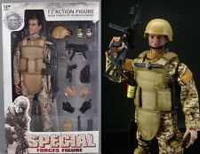 Army Desert ACU Shooter Soldier Ranger 12'' Figures 1/6 Scale Military Model Toy