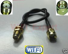 RG174 10' (3M) Antenna SMA Extension Cable WiFi Router ships Same day from USA
