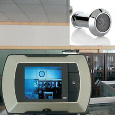 "2.4"" LCD Visual Monitor Door Peephole Peep Hole Wireless Viewer Camera Video UL"