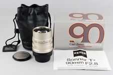 [NEAR MINT] Contax Carl Zeiss G Sonnar T* 90mm f/2.8 w/Case for G1 G2 from Japan
