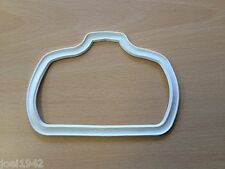REAR LIGHT RUBBER GASKET. WHITE. FOR LAMBRETTA LI SERIES 2 BRAND NEW.