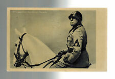 1937 Berlin Germany Benito Mussolini state visit Real Picture postcard Cover 4