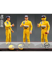 1/24 SENNA 99T F1 DRIVER FIGURE THUMBS UP TAMIYA REVELL
