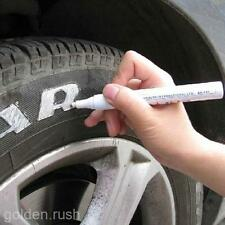 Hot 1X White Racing Moto Tyre Tire Marker Paint Pen for Toyota Ford Honda Harley