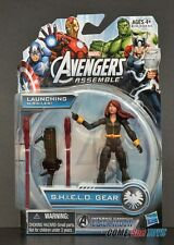 "Marvel Avengers Assemble Inferno Cannon Black Widow 3.75"" Action Figure (MOC)"