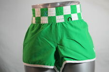 "ROXY WOMEN'S ""CHECK YOURSELF"" GREEN GRAPHIC BOARD/SWIM/BEACH SHORTS size 9/Nine"