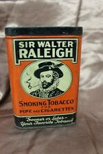 VINTAGE SIR WALTER RALEIGH SMOKING TOBACCO TIN
