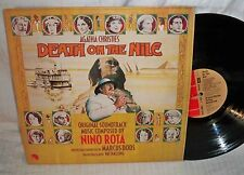 DEATH ON THE NILE nino rota texture cover UK press M- LP