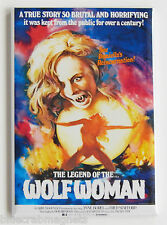 Legend of the Wolf Woman FRIDGE MAGNET (2 x 3 inches) movie poster werewolf